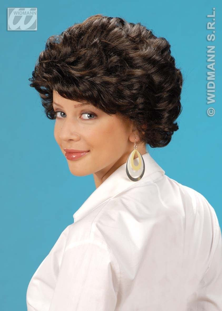 Dorothy Wig Brown/Blk/Blonde - Fancy Dress