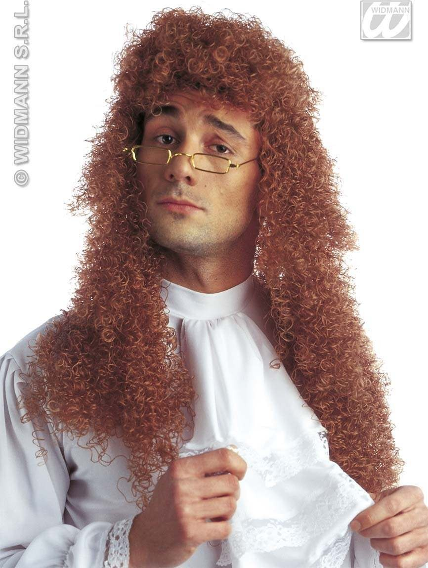 Nobleman Wig In Polybag - Fancy Dress