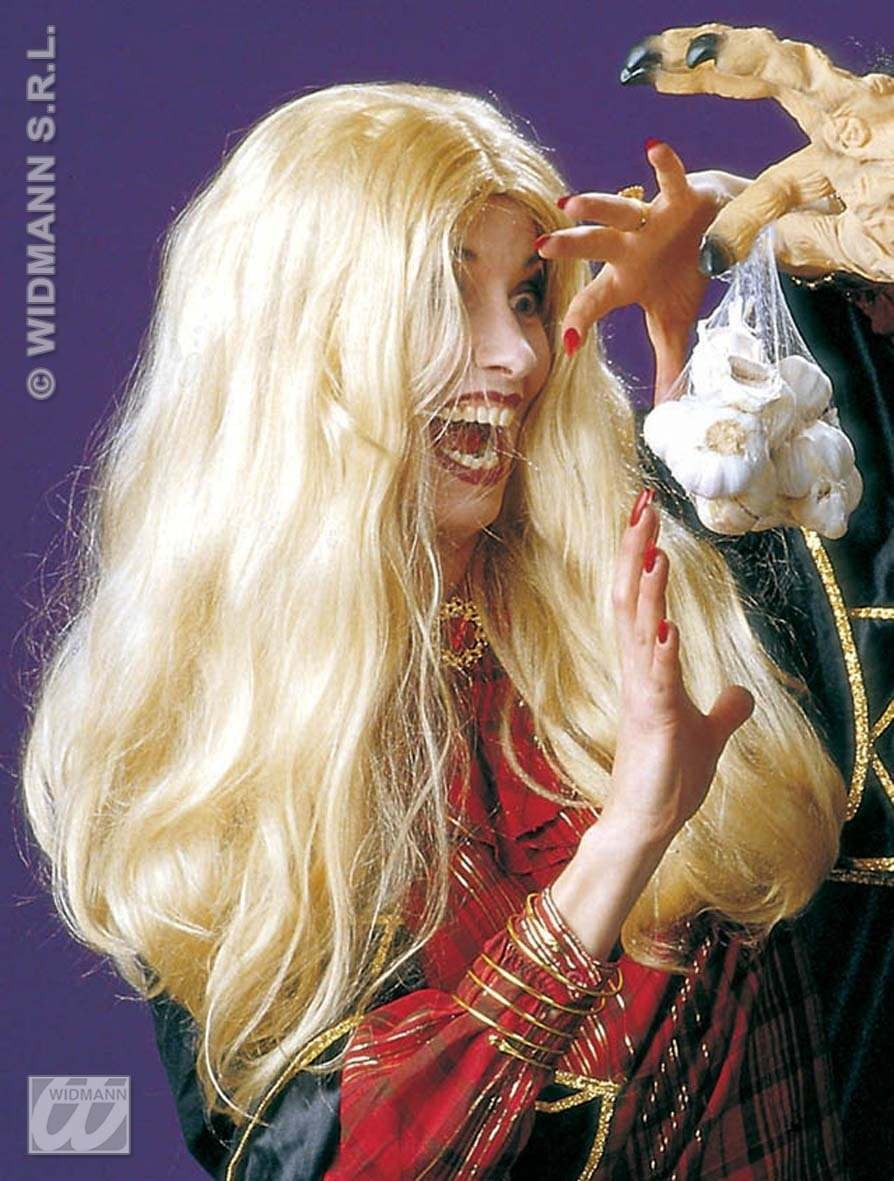 Wig Blonde Morgana Witch - Fancy Dress (Halloween)