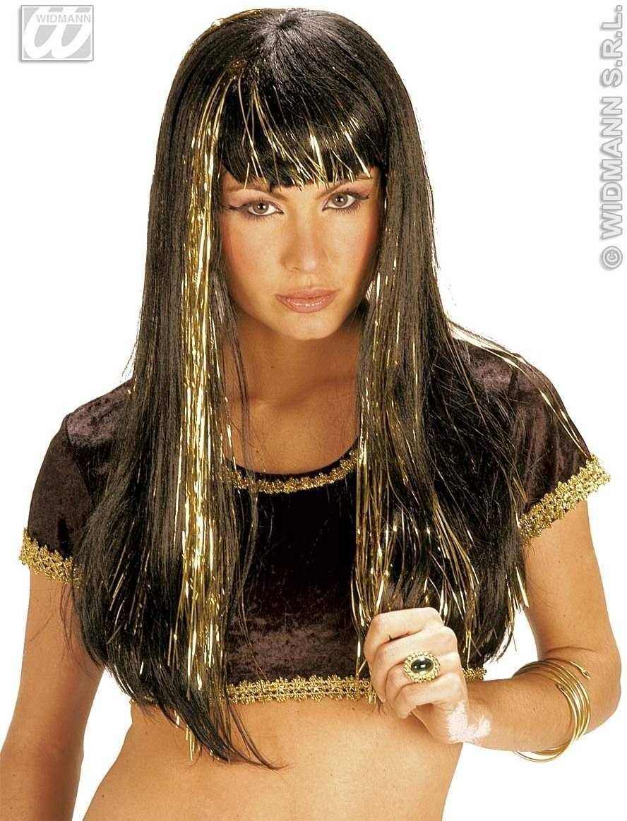 Megan Wig Black In Polybag - Fancy Dress