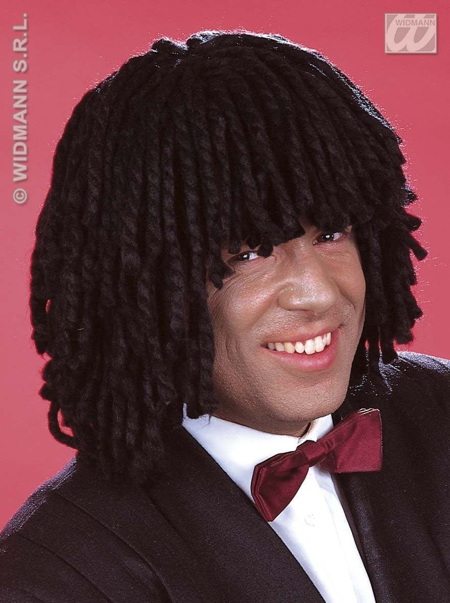 Jamaica Wig Black Unisex - Fancy Dress