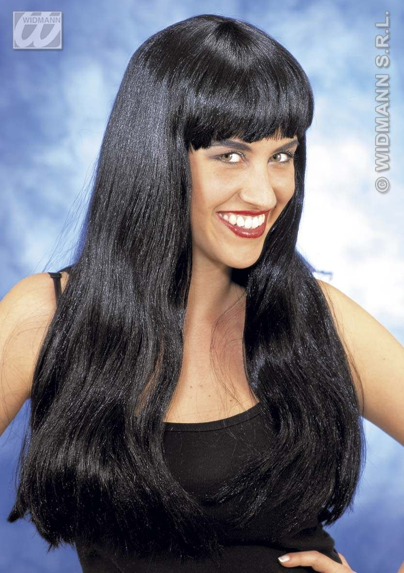 Fashion Wig Black - Fancy Dress