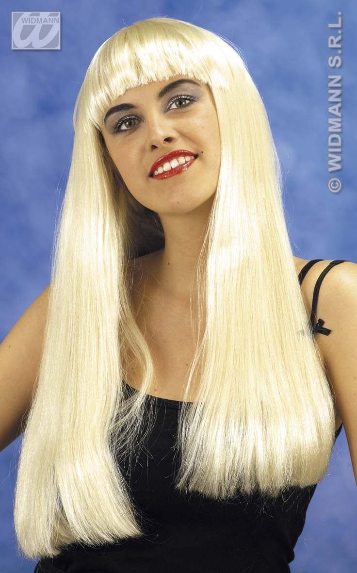 Fashion Wig Blonde - Fancy Dress