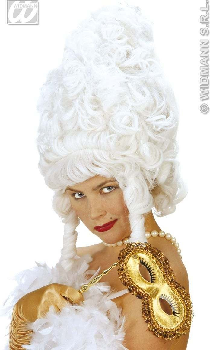 Maxi Rococo Wig In Polybag - Fancy Dress
