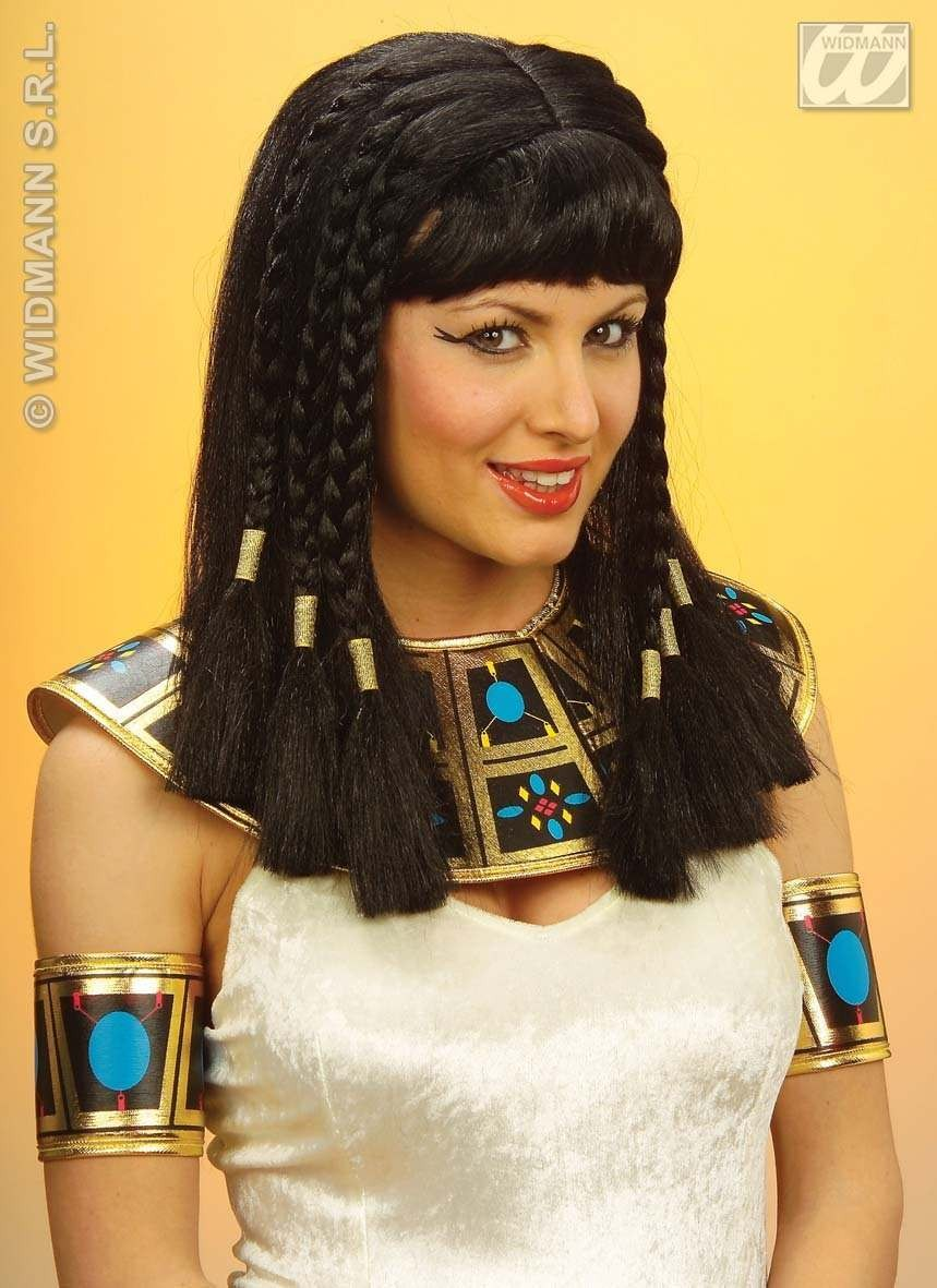 Wig Queen Of The Nile Polybag - Fancy Dress (Egyptian)