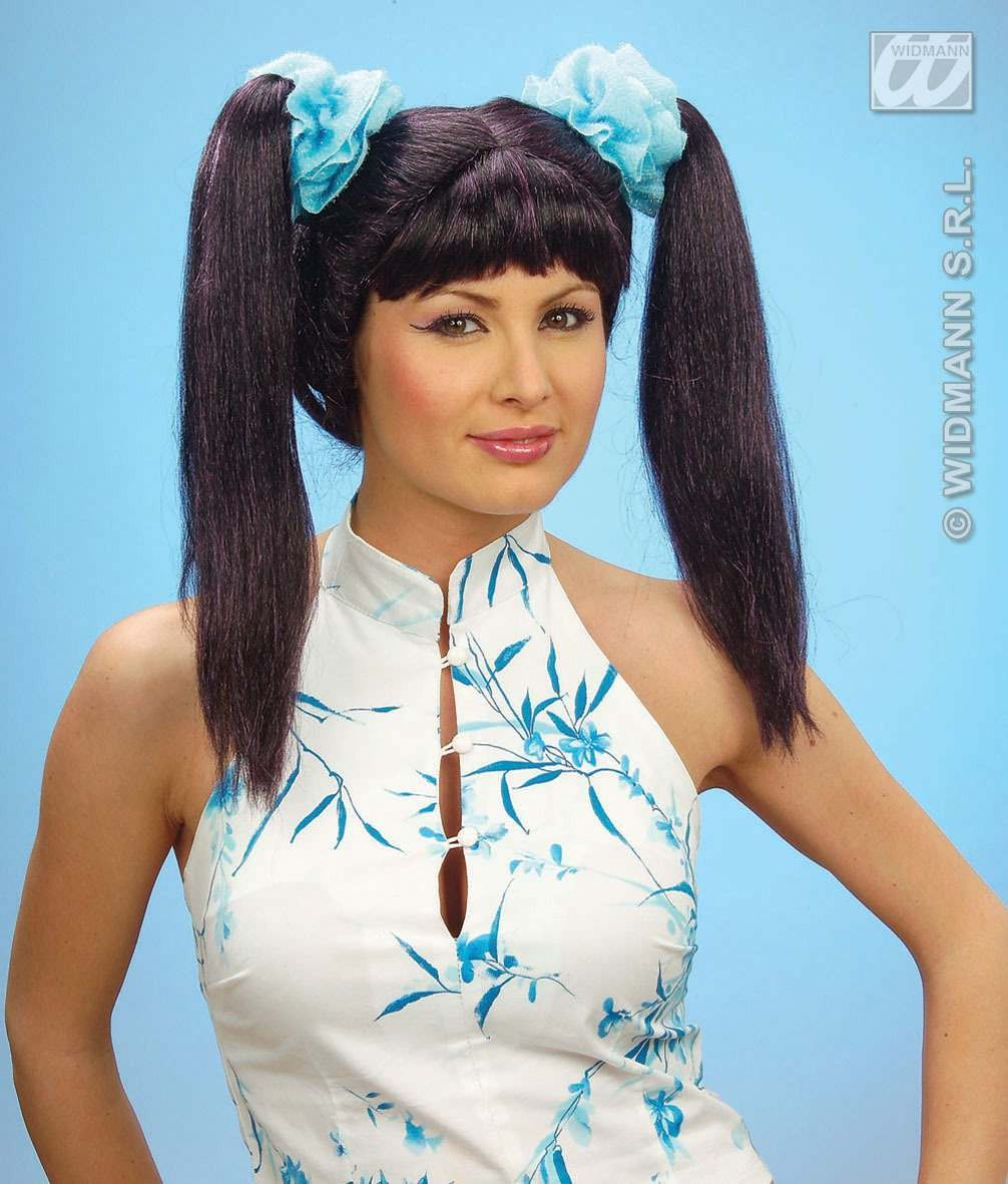 Mei Ling Wig In Box - Fancy Dress