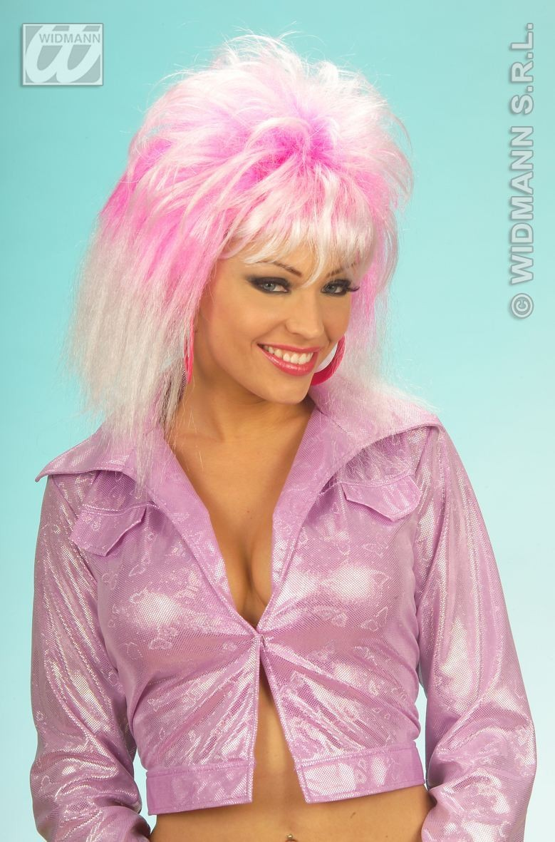 Sheila Wigs Polybag 2 Col - Fancy Dress