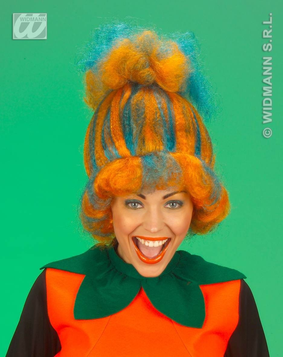 Pumpkin Wig Fancy Dress (Halloween)