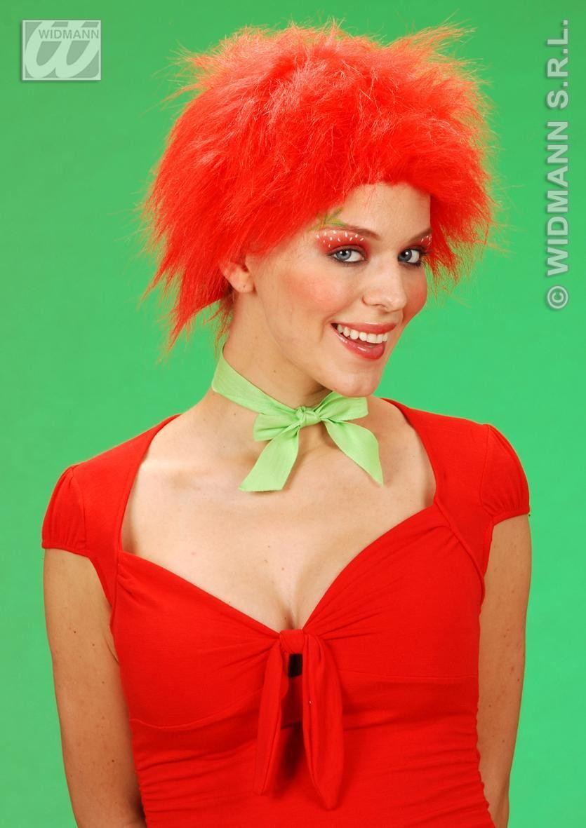 Plush Wig Red - Fancy Dress