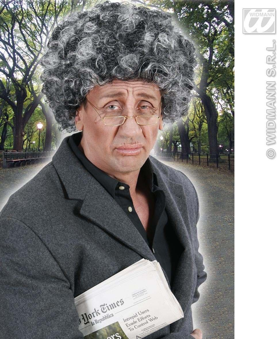 Old Man Wig In Polybag - Fancy Dress