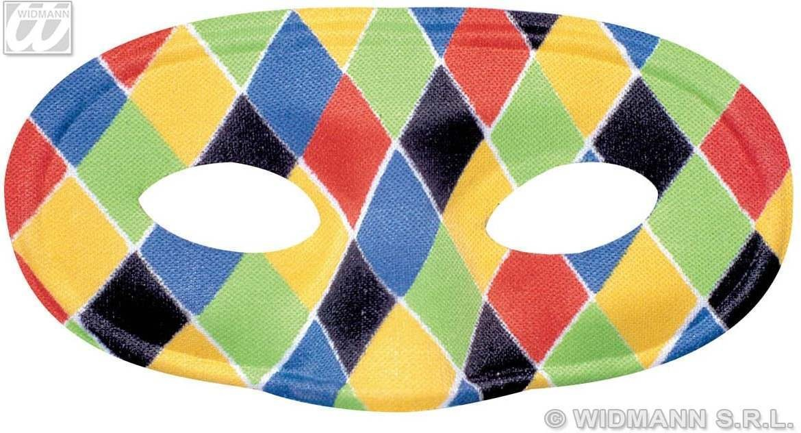 Eyemask Harlequin - Fancy Dress
