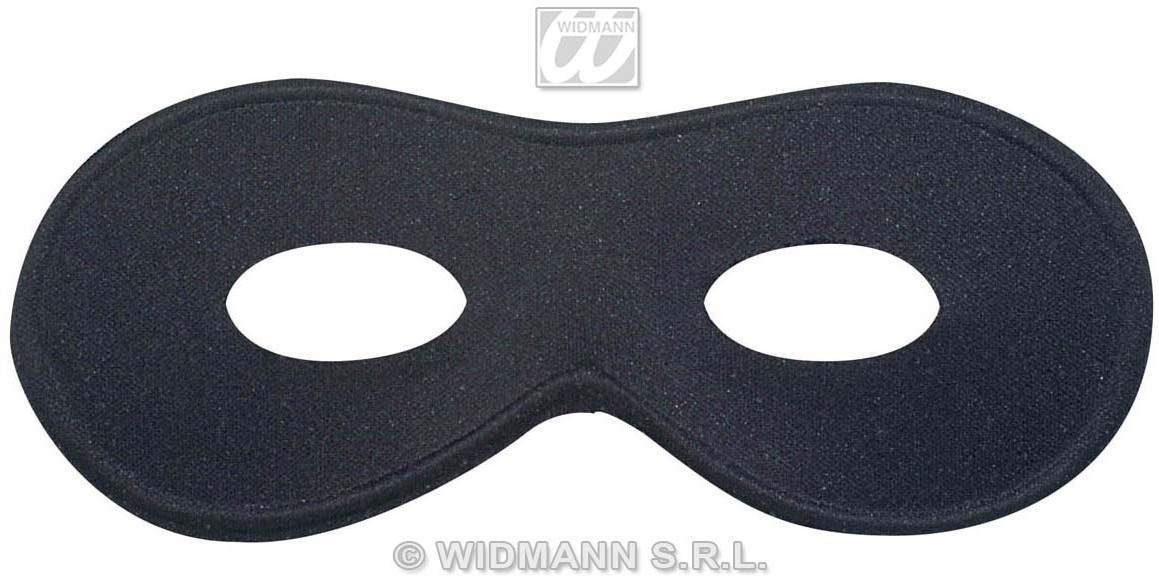 Eyemask Black Chevalier - Fancy Dress