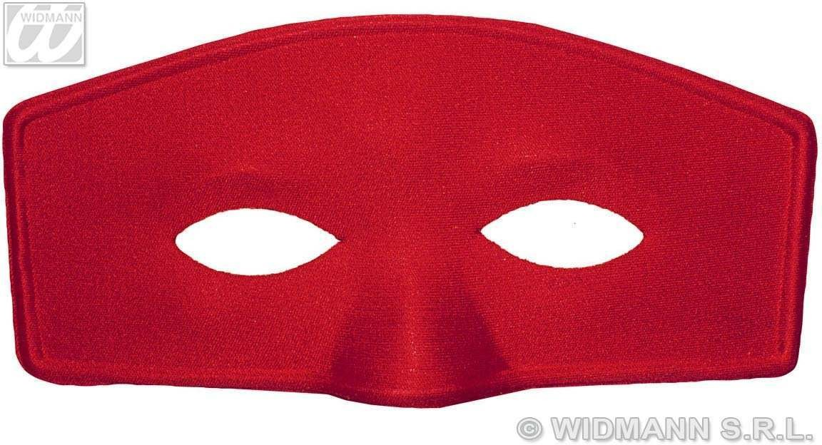 Eyemask Dodge 2 Cols Red/White - Fancy Dress