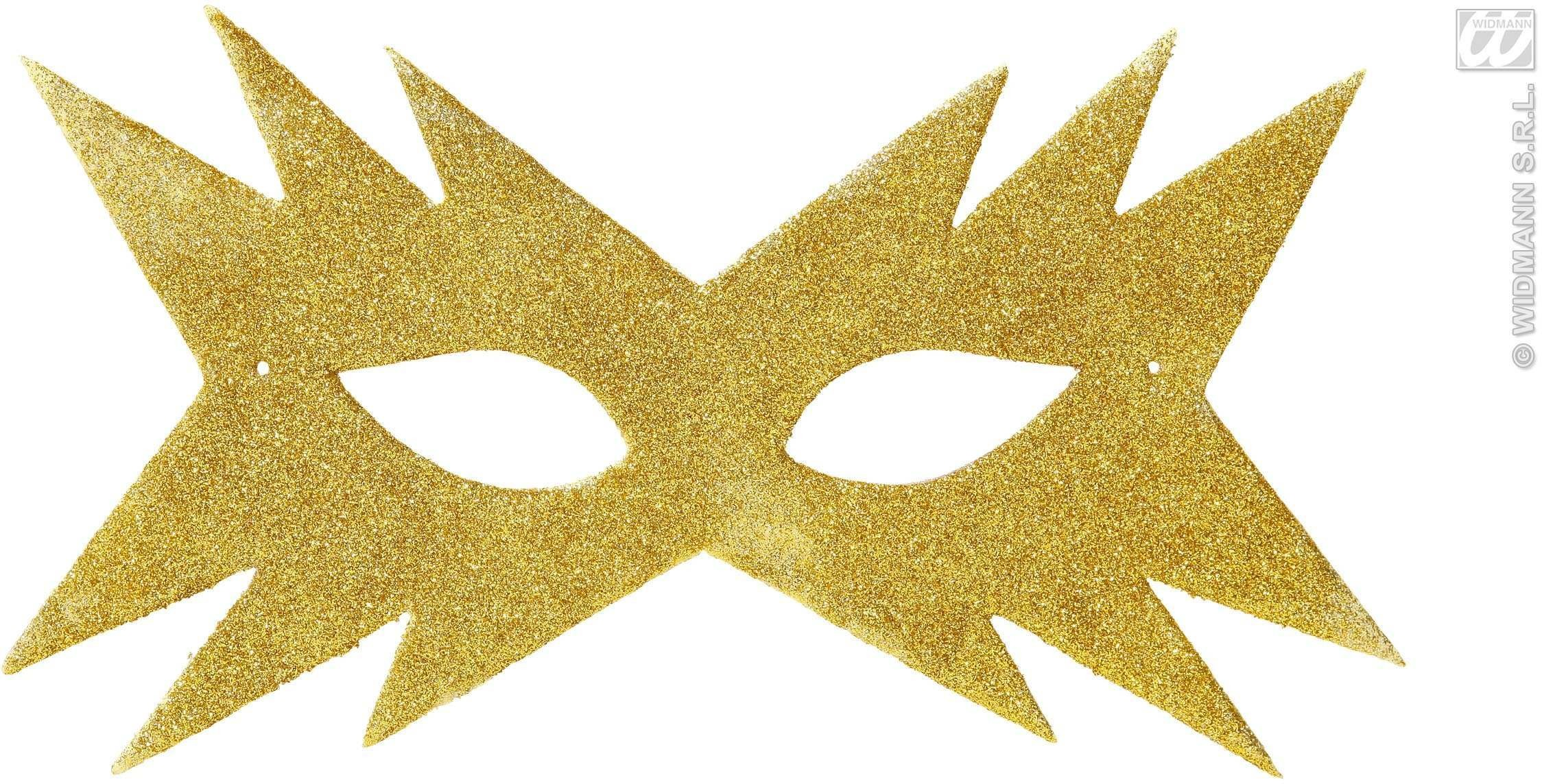 Star Eyemask - Gold - Fancy Dress