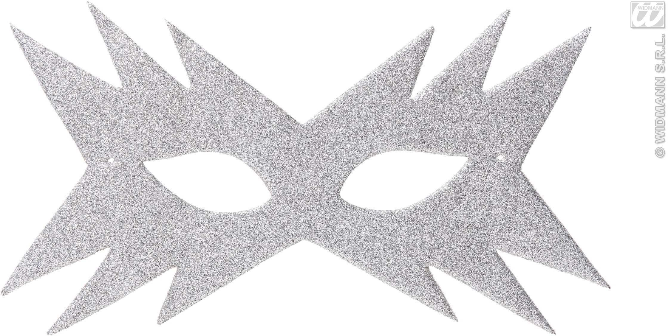 Star Eyemask - Silver - Fancy Dress