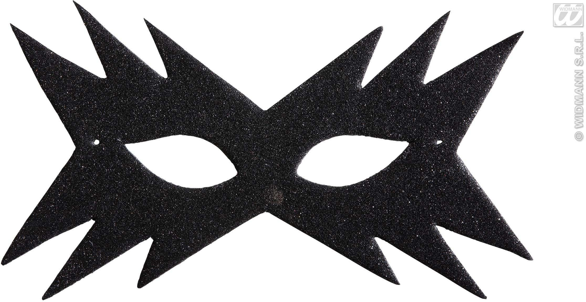 Star Eyemask - Black - Fancy Dress