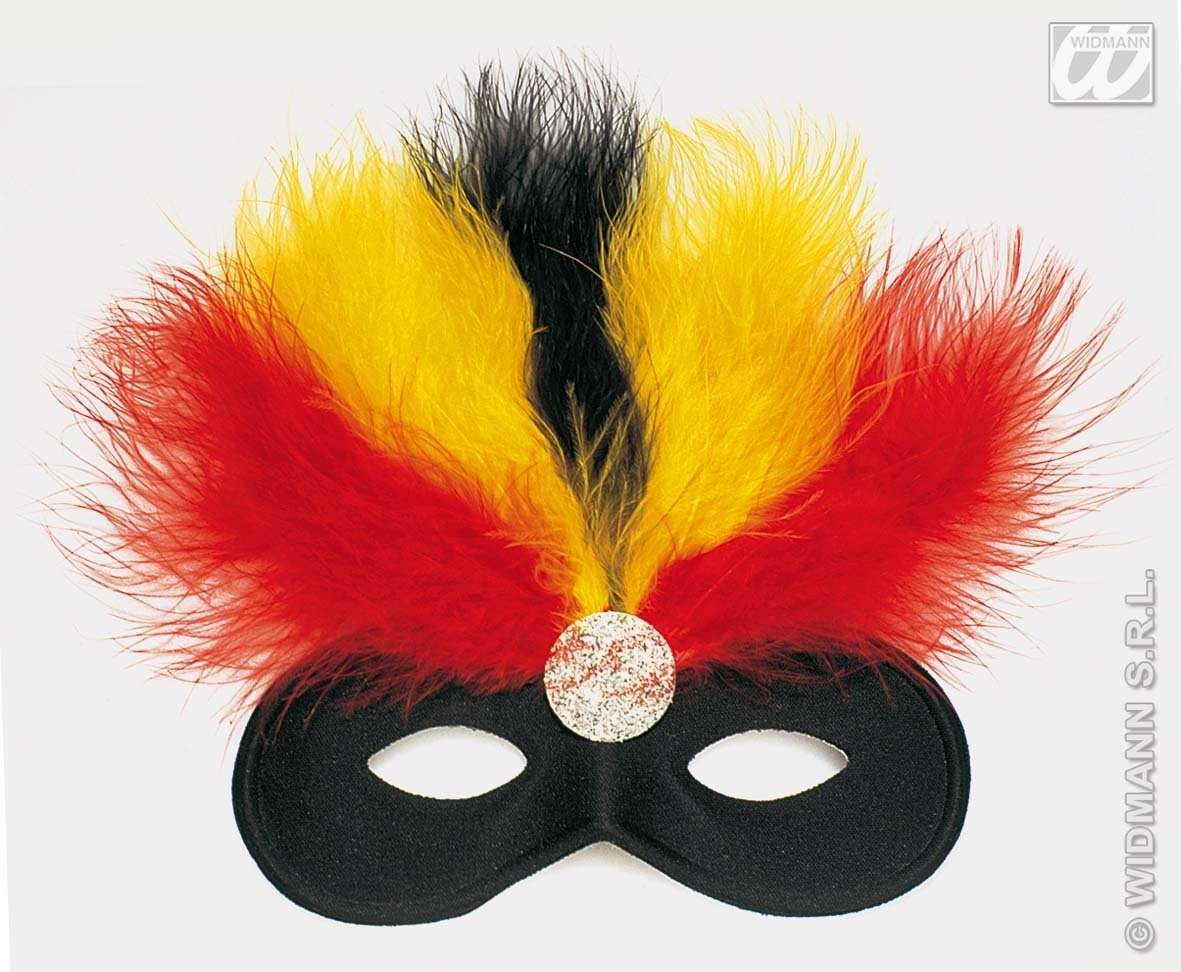 Feathered Samba Eyemask - Fancy Dress