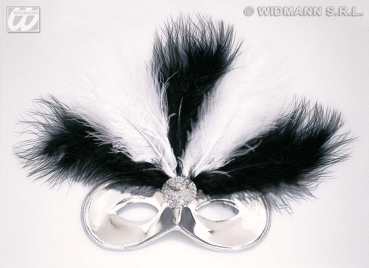 Feathered Champs Elysees Eyemask - Fancy Dress