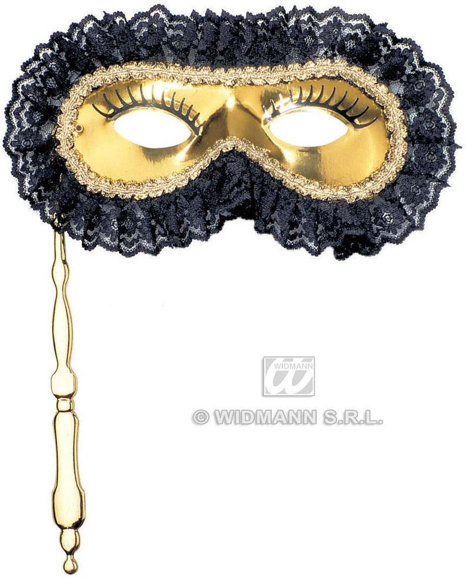 Rialto Eyemask On Stick - Fancy Dress