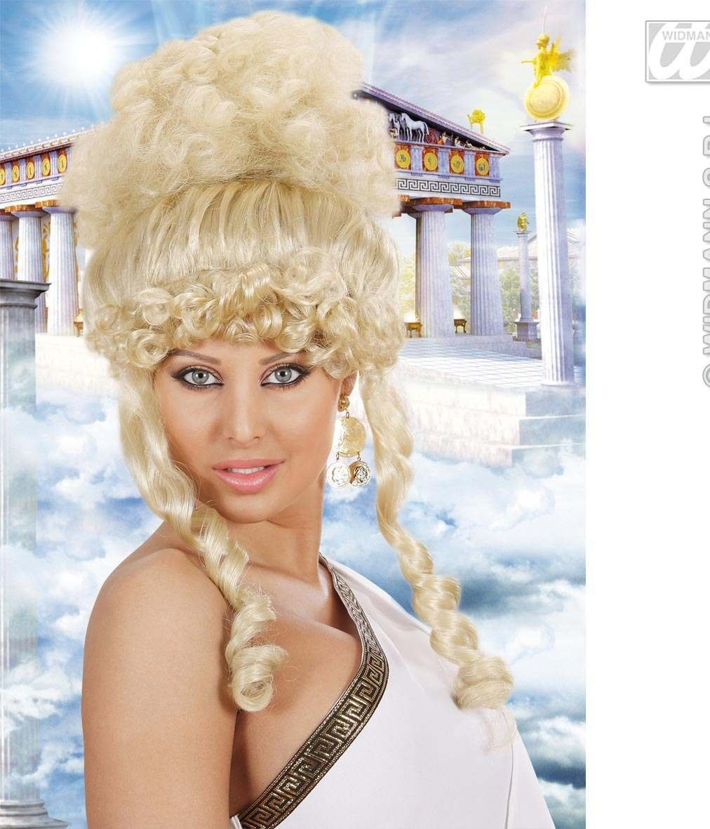 Olympian Goddess Wig - Blonde - Fancy Dress (Greek , Roman)