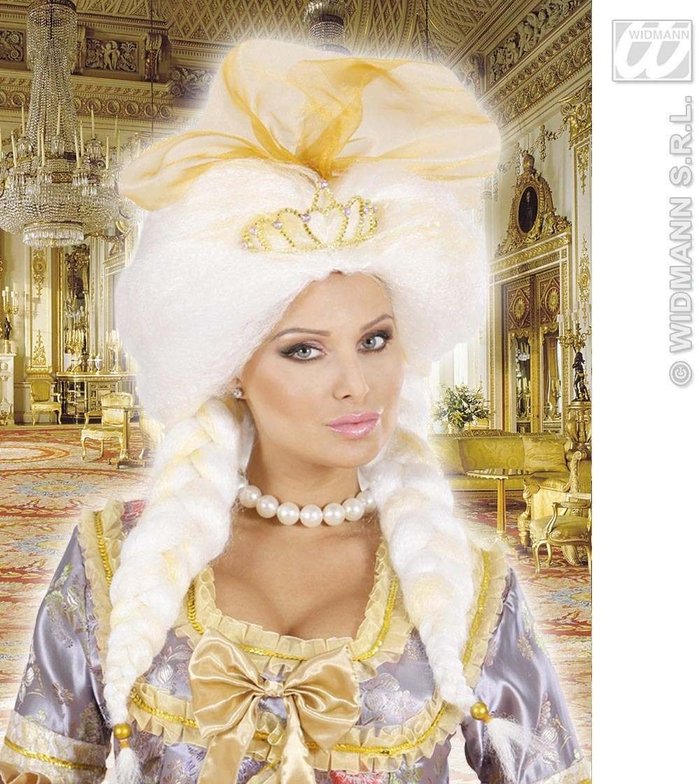 Fantasy Queen Wig In Box - Fancy Dress (Royalty)