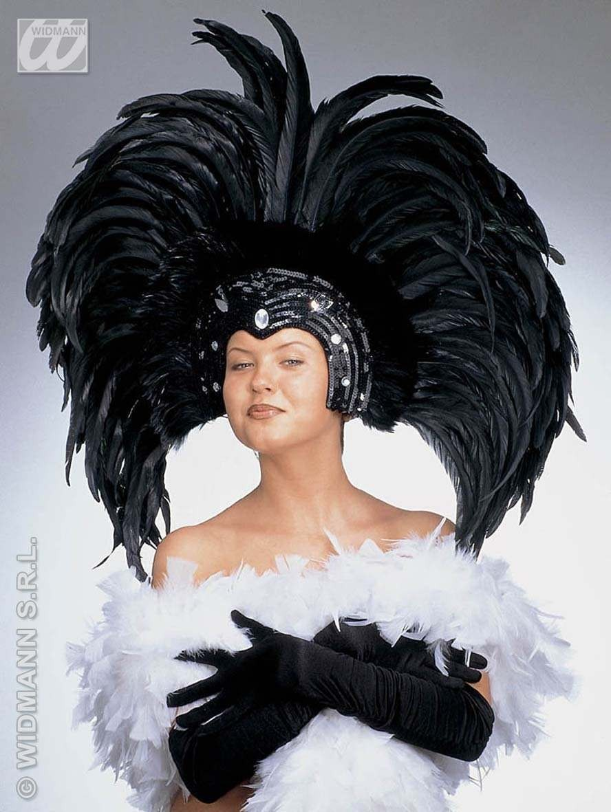 Feathered Brazil Headdress - Fancy Dress