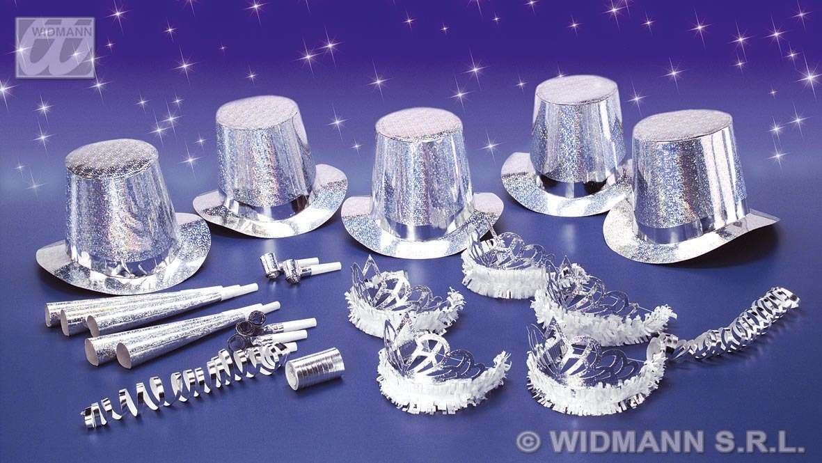 Las Vegas Party Kit 10 Person Diamond - Fancy Dress