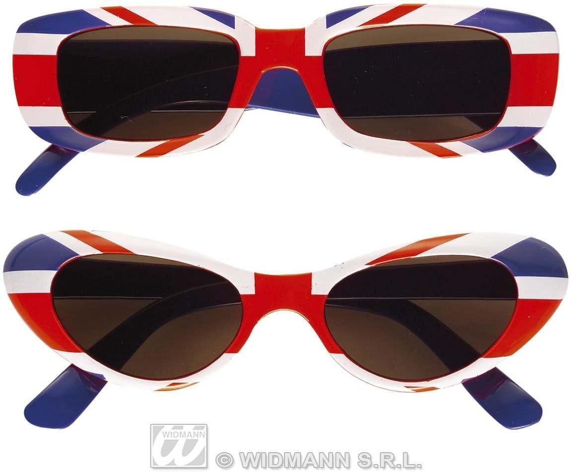 Glasses Uk Single Pair - Fancy Dress