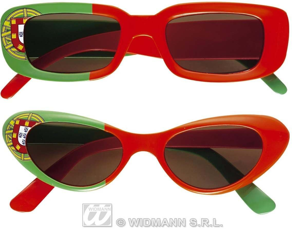 Portugal Glasses 2 Styles Asstd Fancy Dress