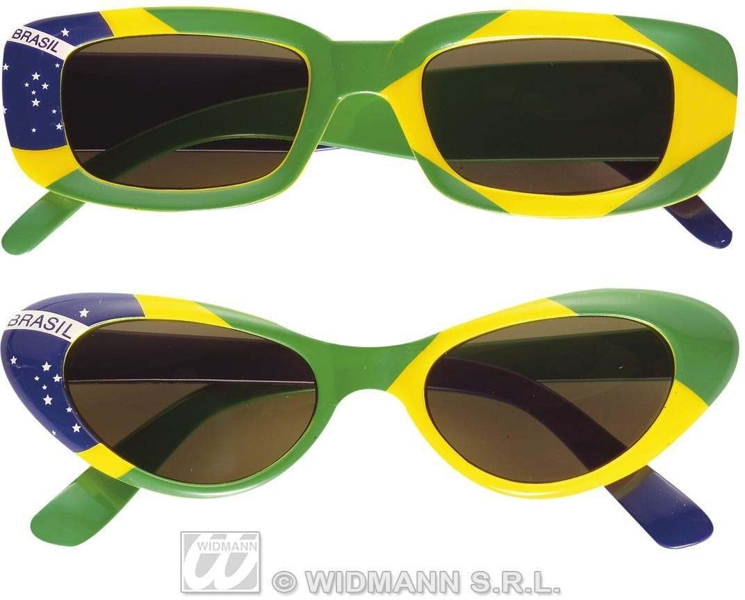 Brazil Glasses 2 Styles Asstd Fancy Dress
