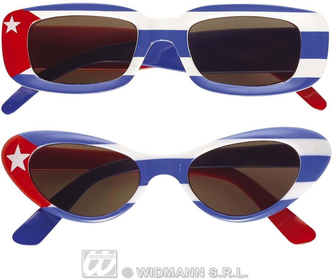 Cuba Glasses 2 Styles Asstd Fancy Dress