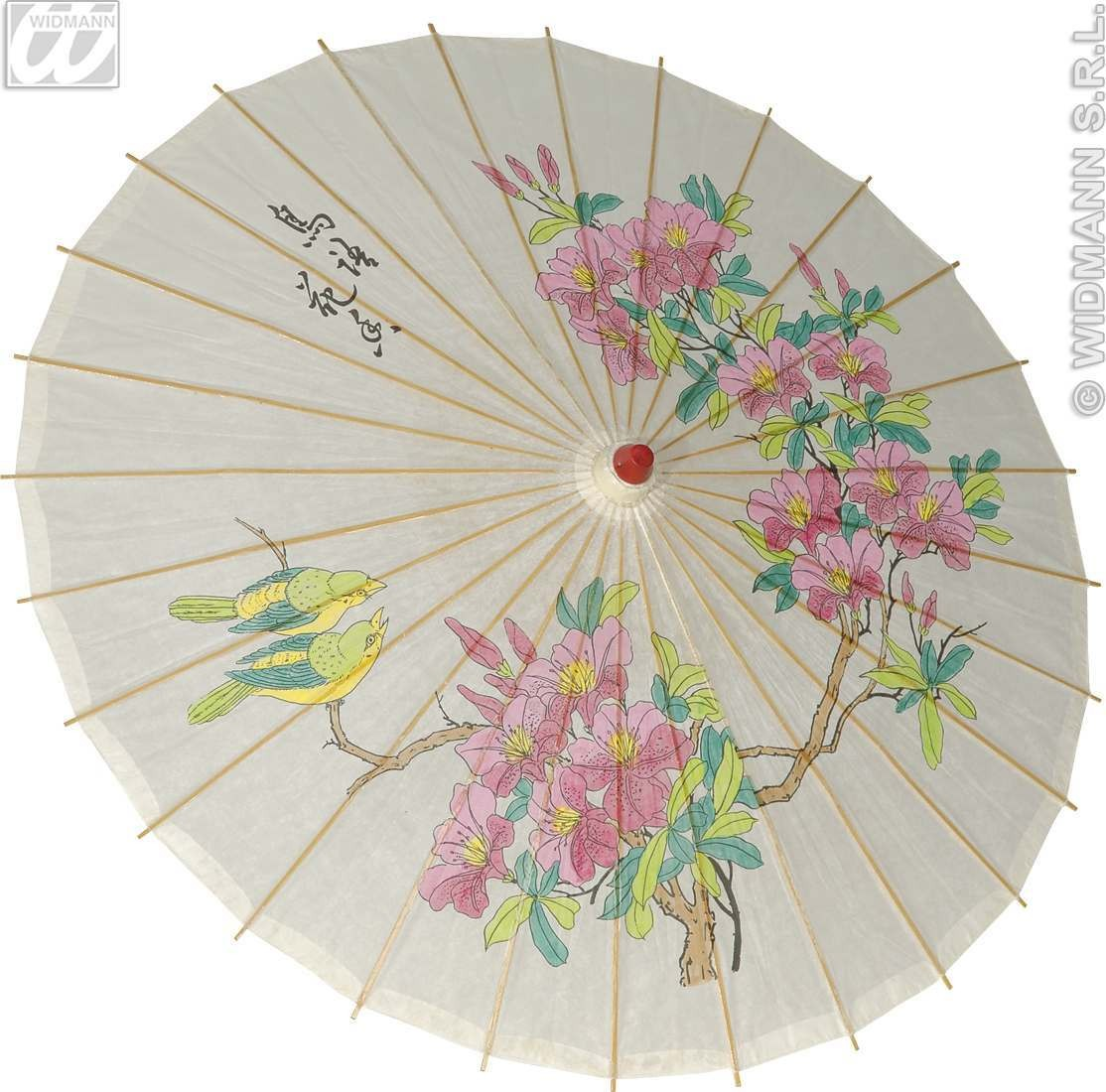 Parasol Oriental Rice Paper 83Cm - Fancy Dress