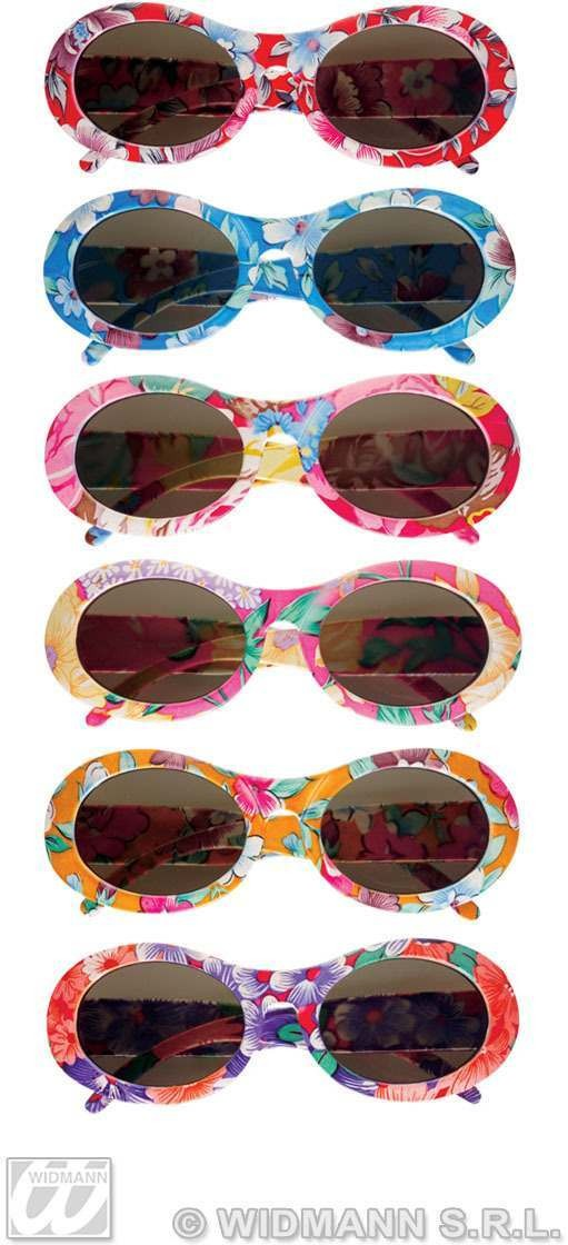 Flower Time Glasses - Fancy Dress