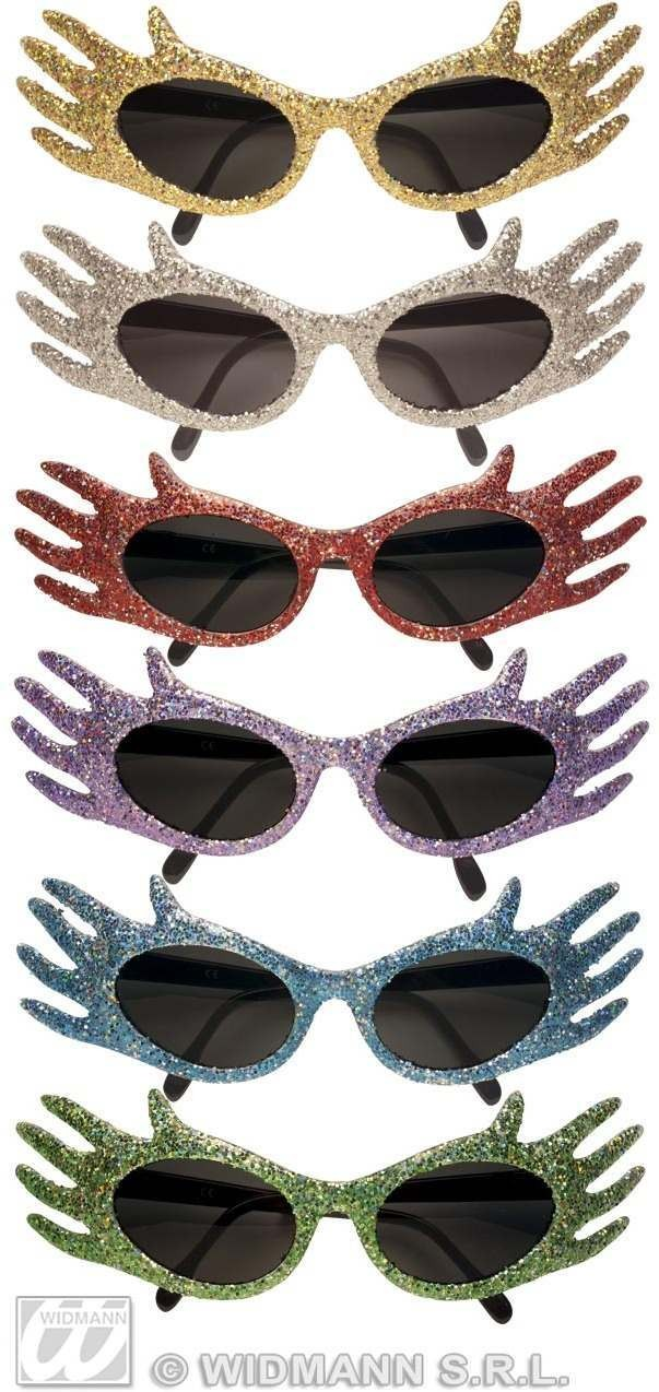 Glasses Glitter Space Jam 6Colours - Fancy Dress