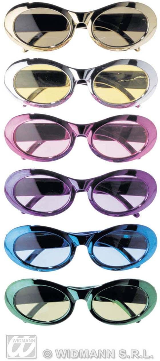 Metallic Fashion Glasses - Fancy Dress