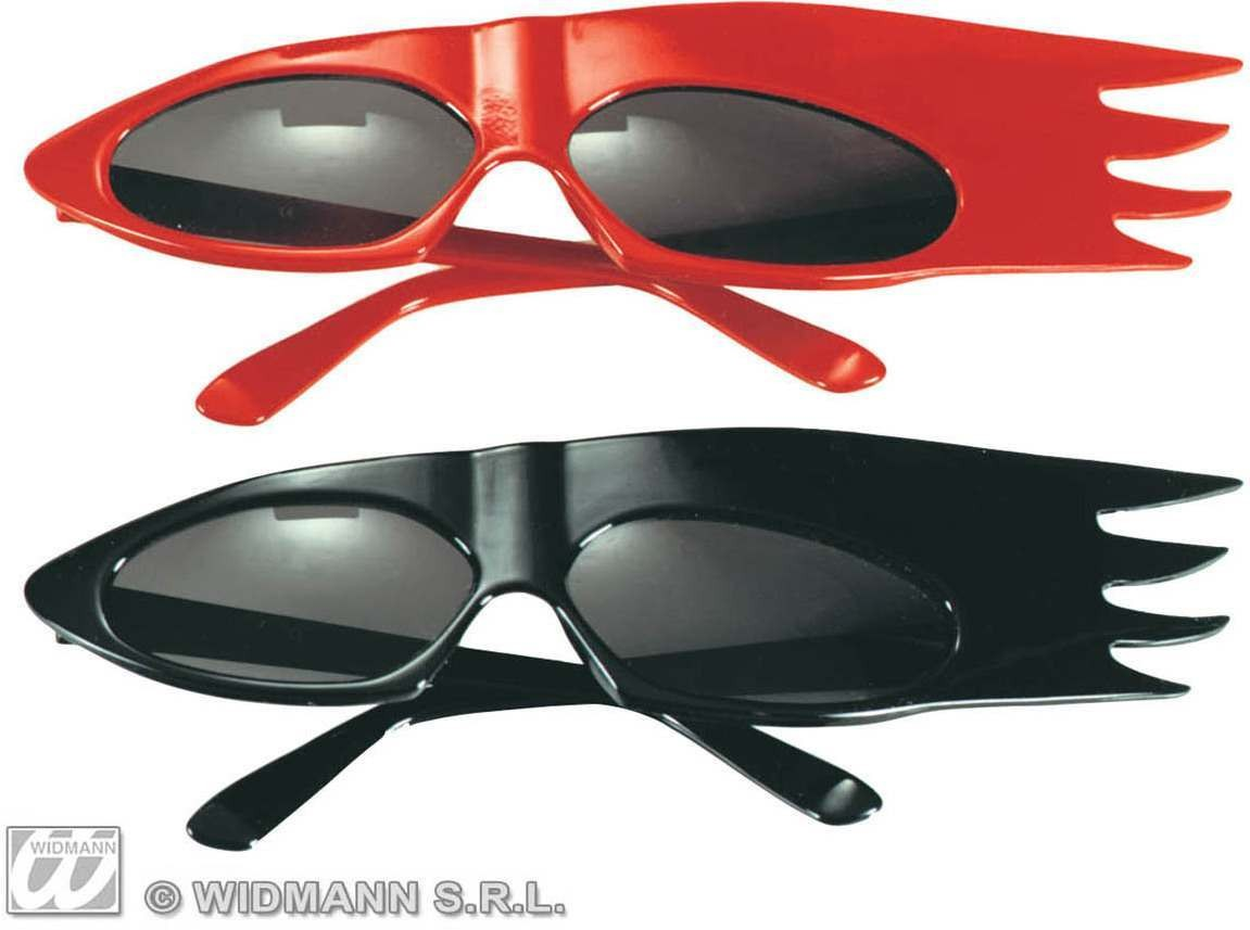 Drive In Glasses Red/Black - Fancy Dress