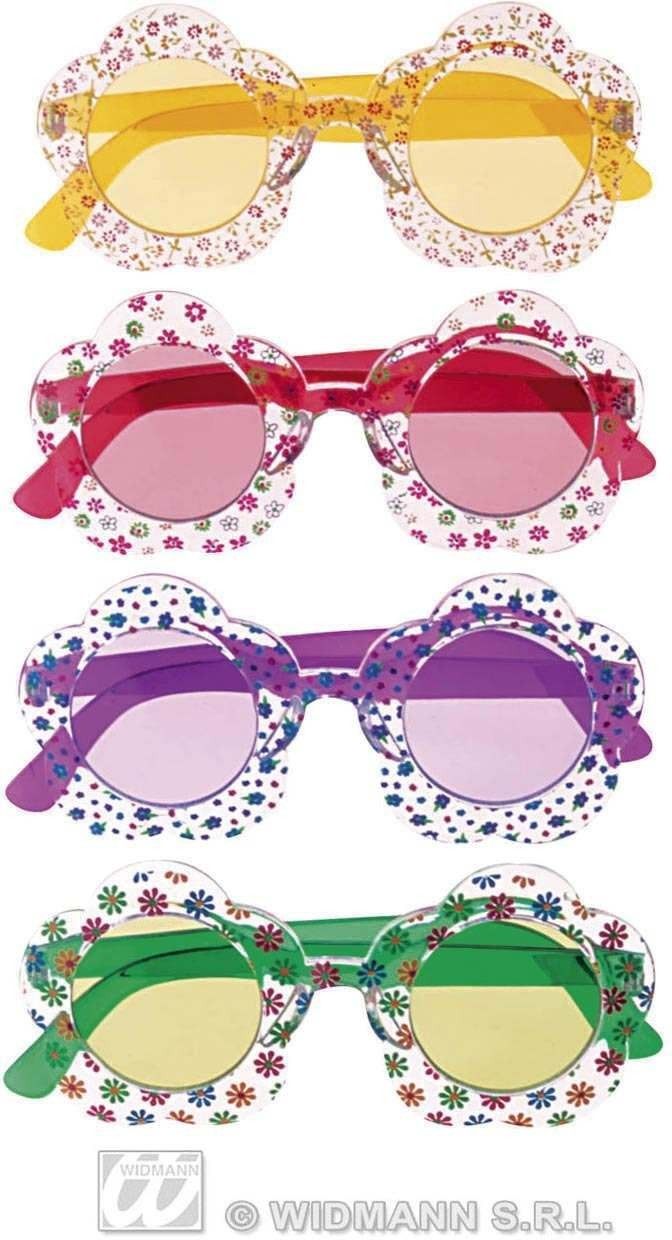 Hippie Flower Glasses - Fancy Dress (1960S)