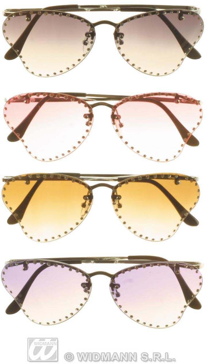 Butterfly Glasses W/Rhinestone - Fancy Dress