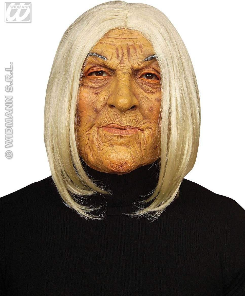 Old Jolie Mask With Wig - Fancy Dress