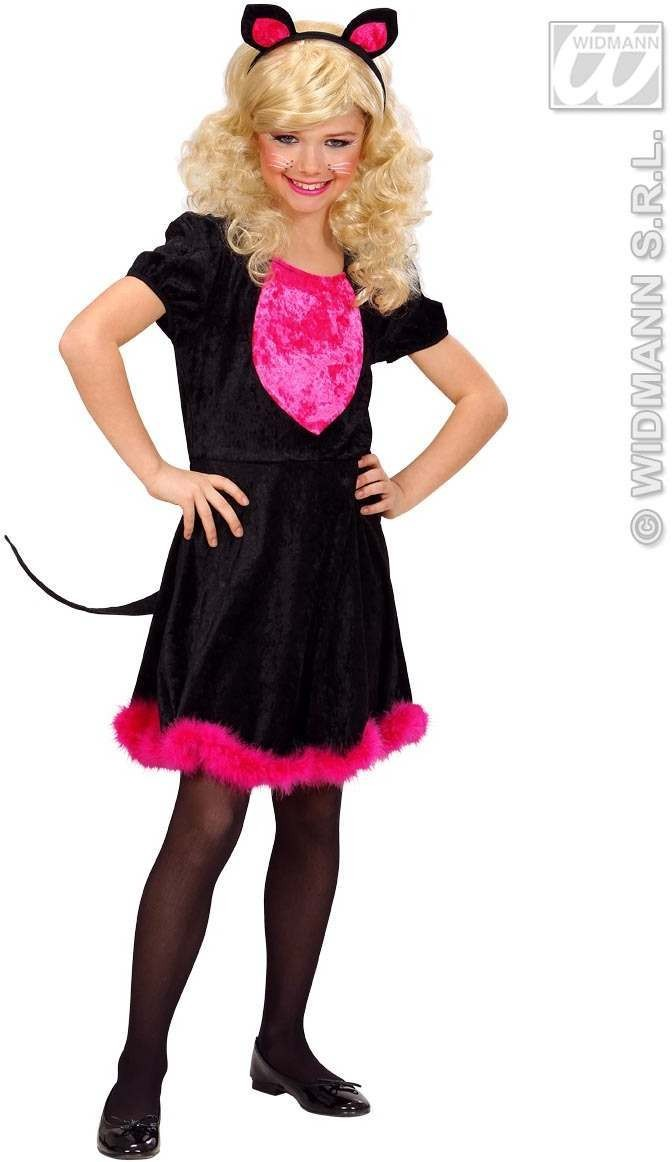 Kitty Kat Fancy Dress Costume Girls (Animals)