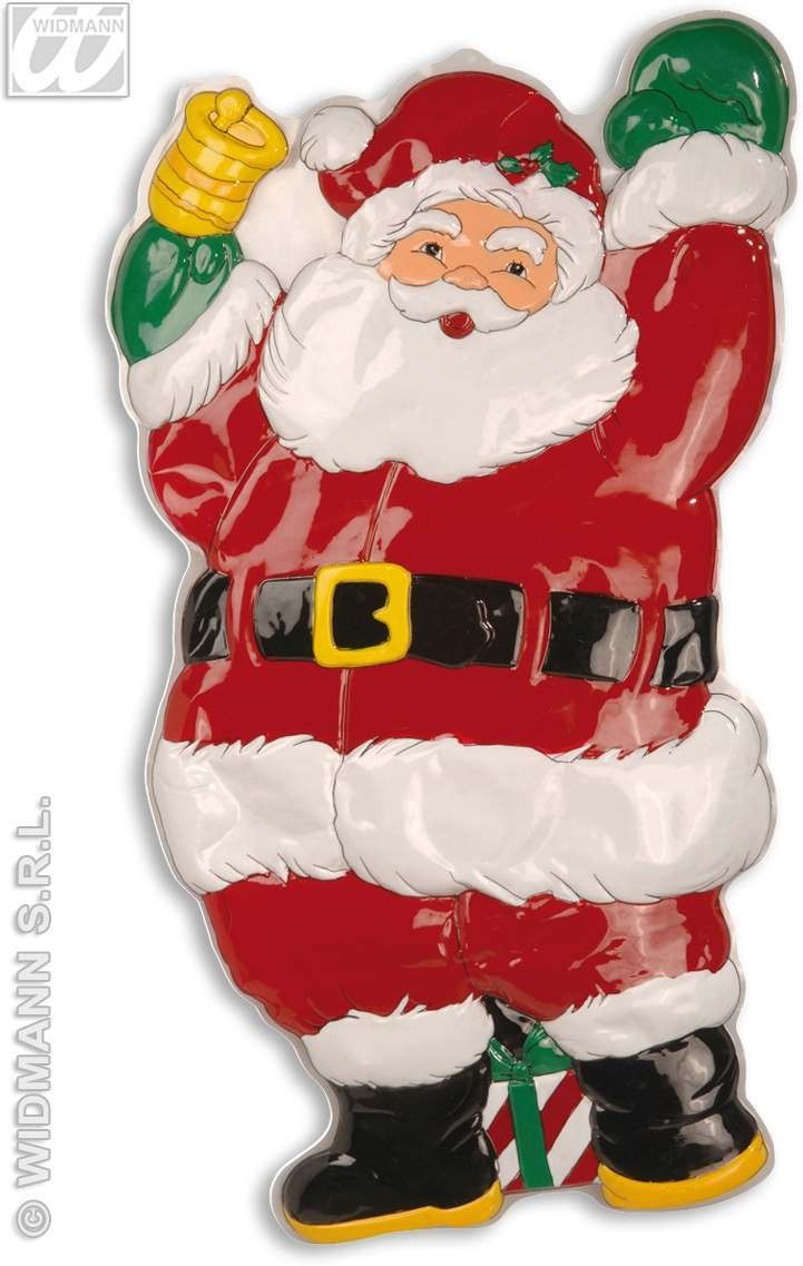 3D Santa Claus With Bell - 100Cm Fancy Dress (Christmas)