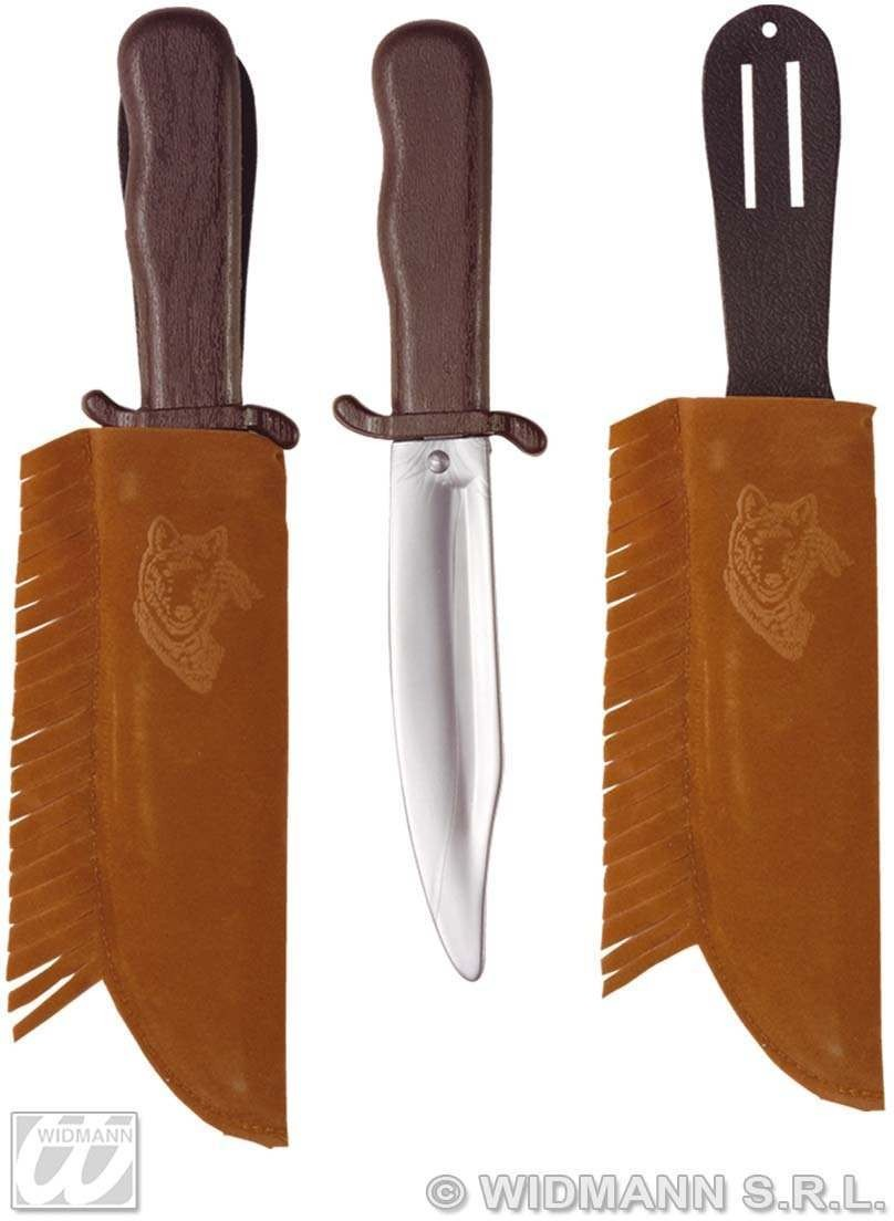 Indian Knife With Sheath - Fancy Dress (Cowboys/Indians)