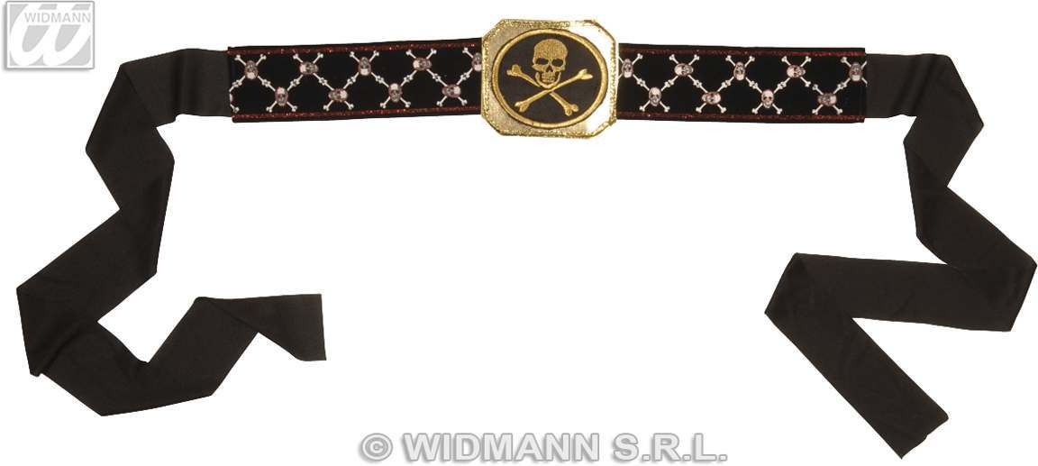 Pirate Belt With Buckle - Fancy Dress (Pirates)