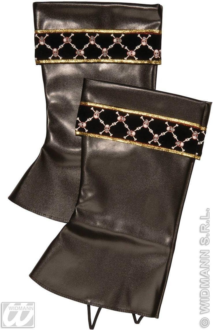 Pirate Boot Tops Leatherlook - Fancy Dress (Pirates)