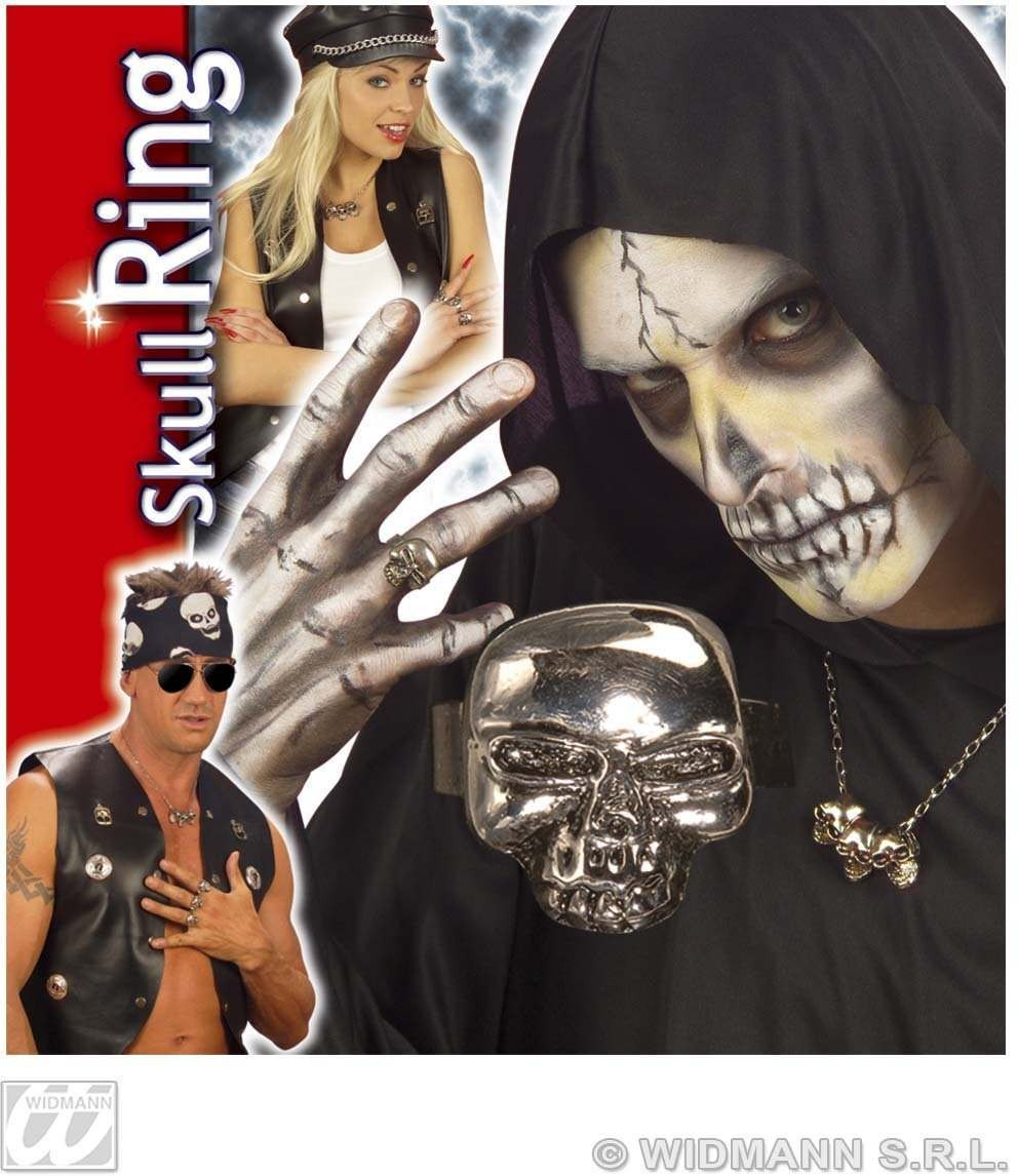 Skull Ring - Fancy Dress