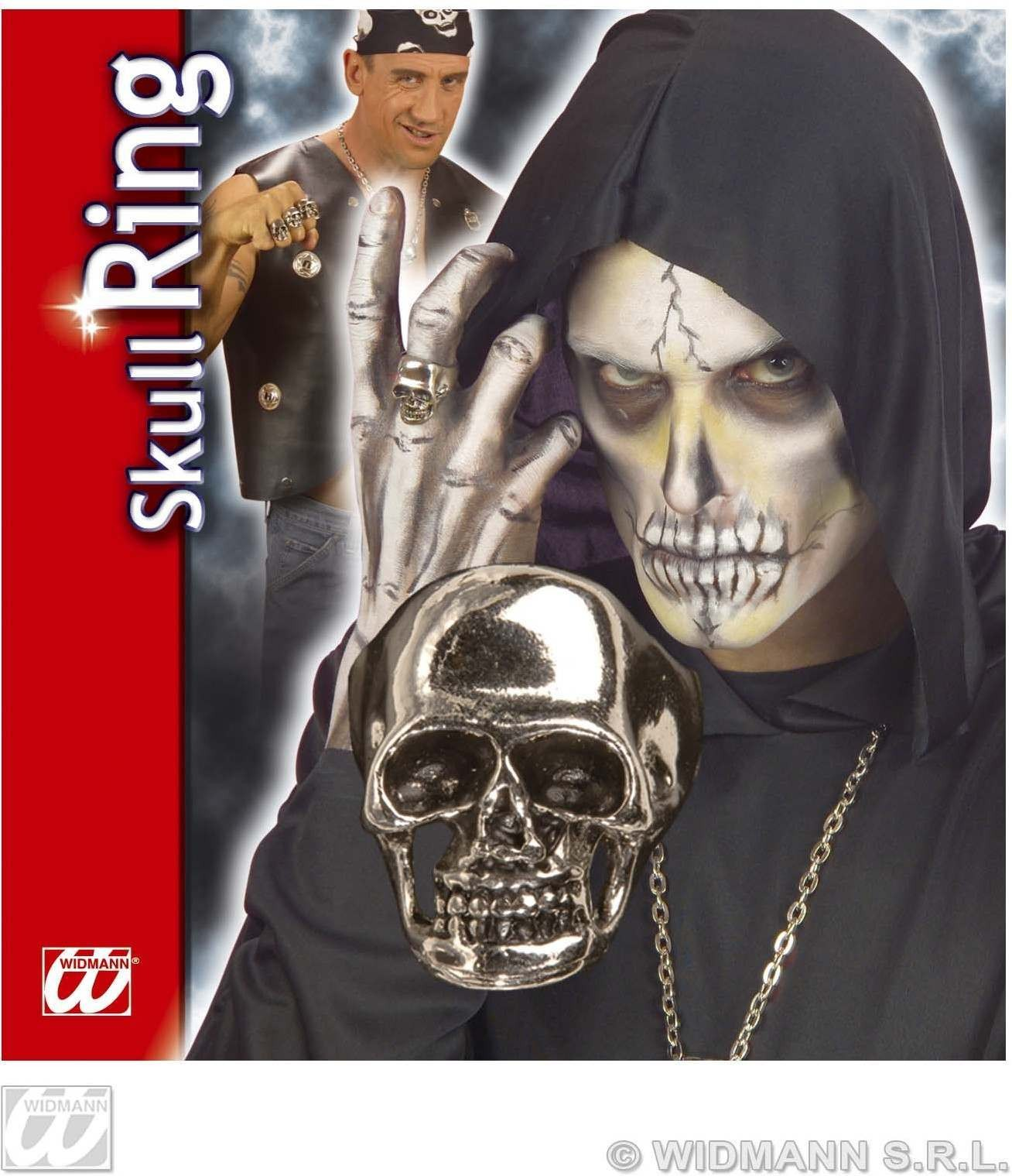 Skull Ring Deluxe - Fancy Dress