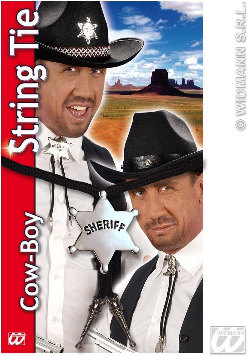 Cowboy String Tie 2Styles - Fancy Dress (Cowboys/Indians)