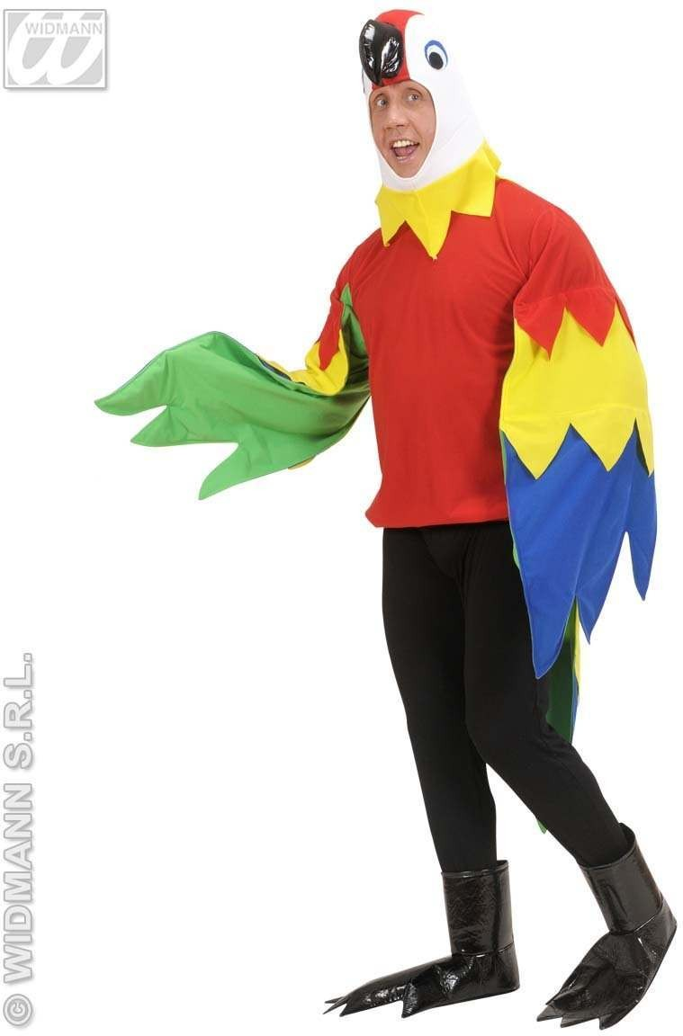 Parrot Fancy Dress Costume Mens (Animals)