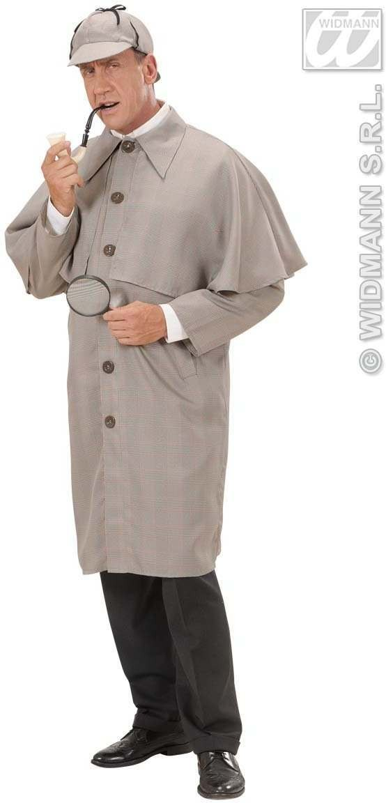 Detective Fancy Dress Costume Mens (Cops/Robbers)
