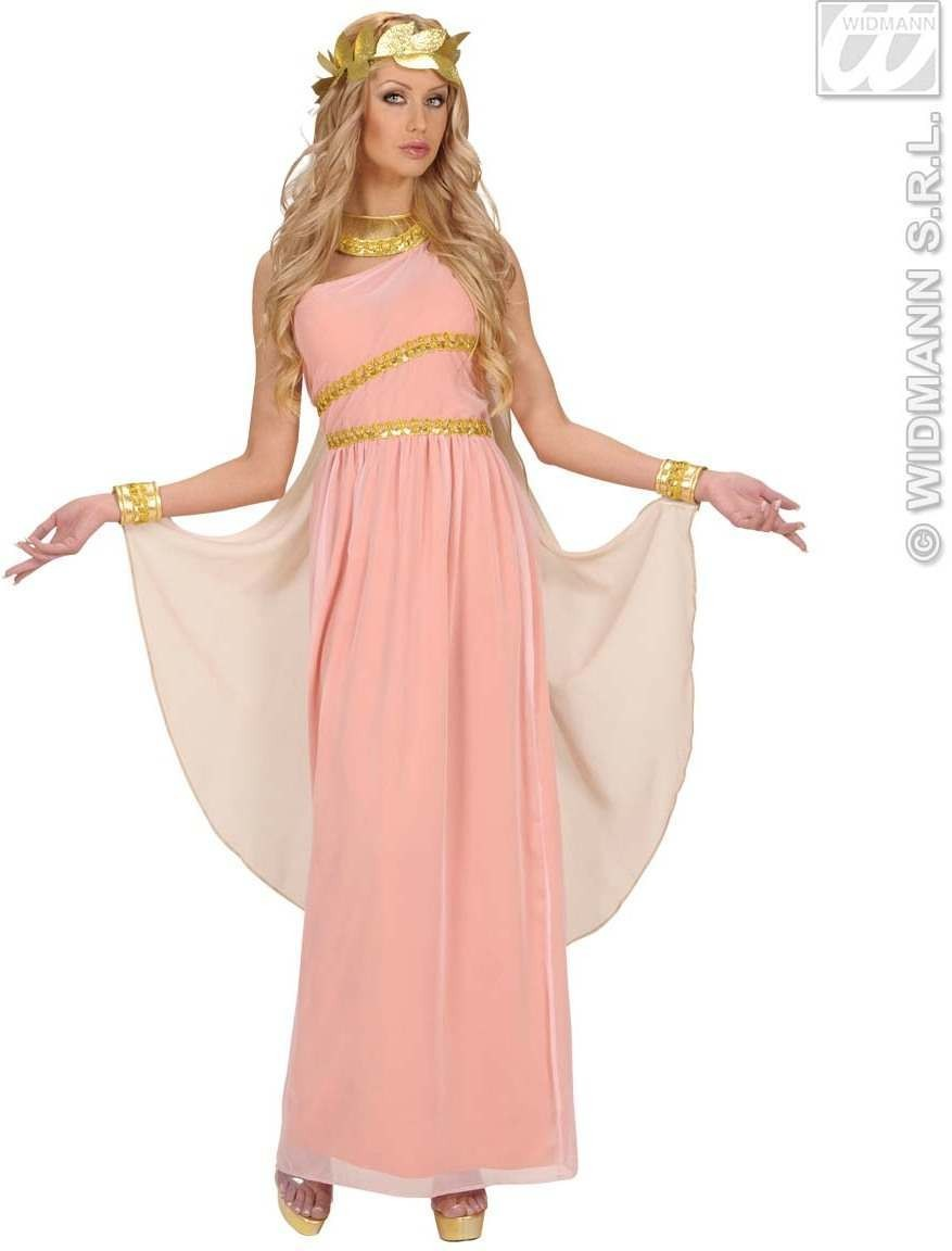 Aphrodite Goddess Of Love Fancy Dress Costume Ladies (Greek)